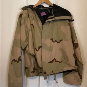Other - Chemical protection camouflage hooded jacket